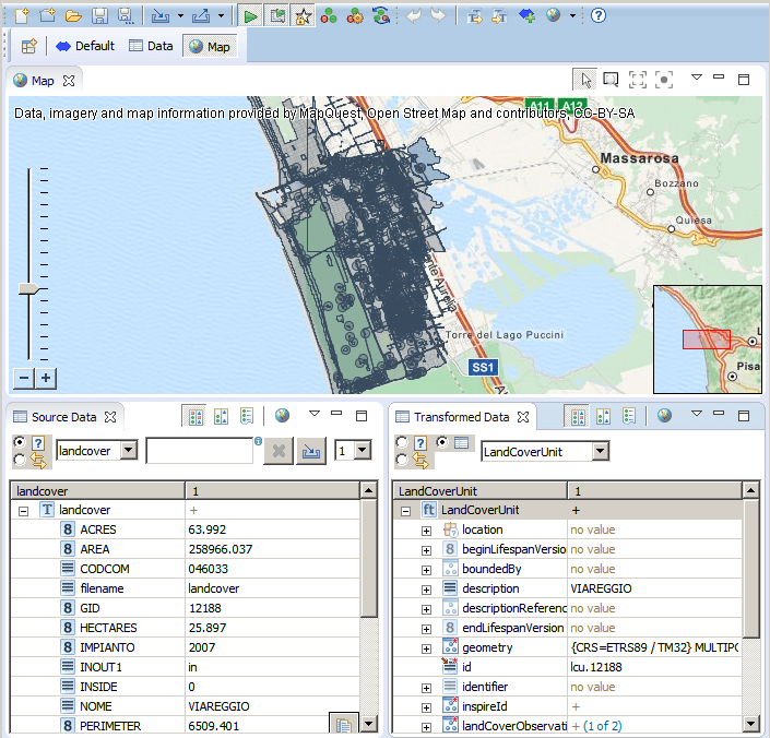 HALE Data and Map Views