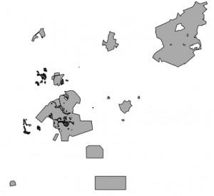 Sample curve data for PostGIS
