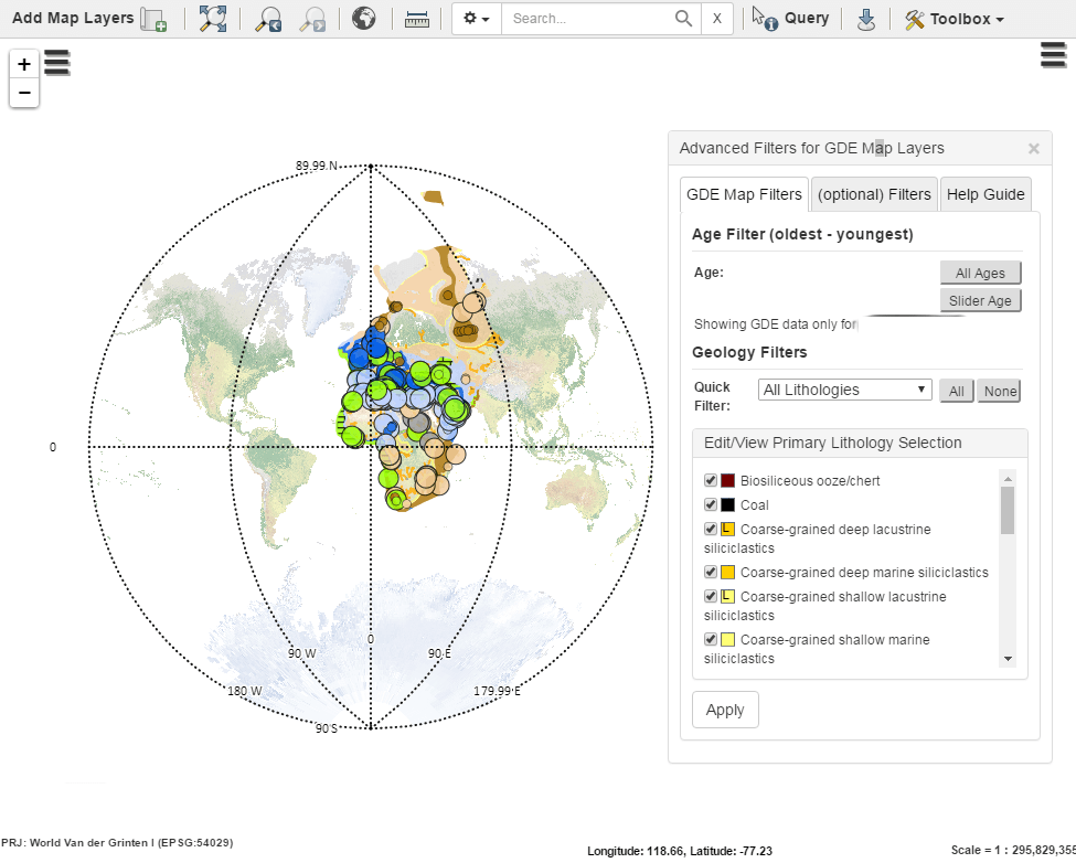 MapStore 2 Complete Application - Advanced Filtering