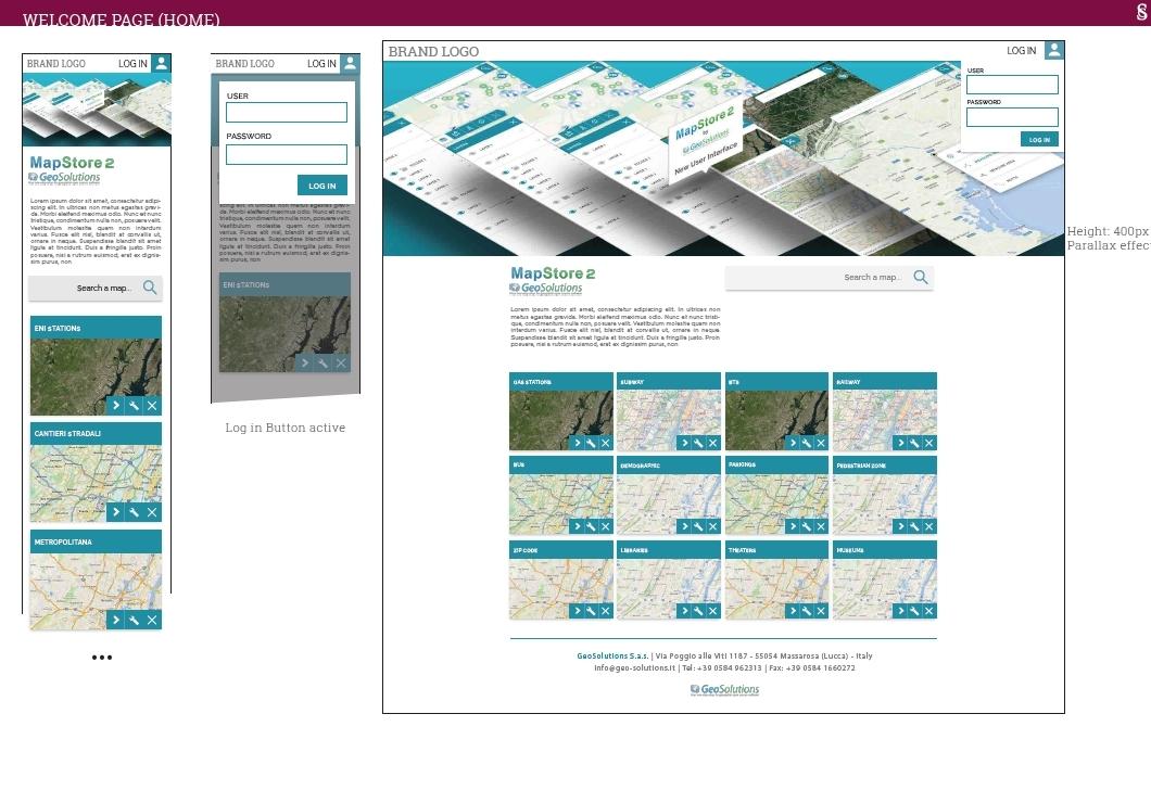 MapStore 2 HomePage