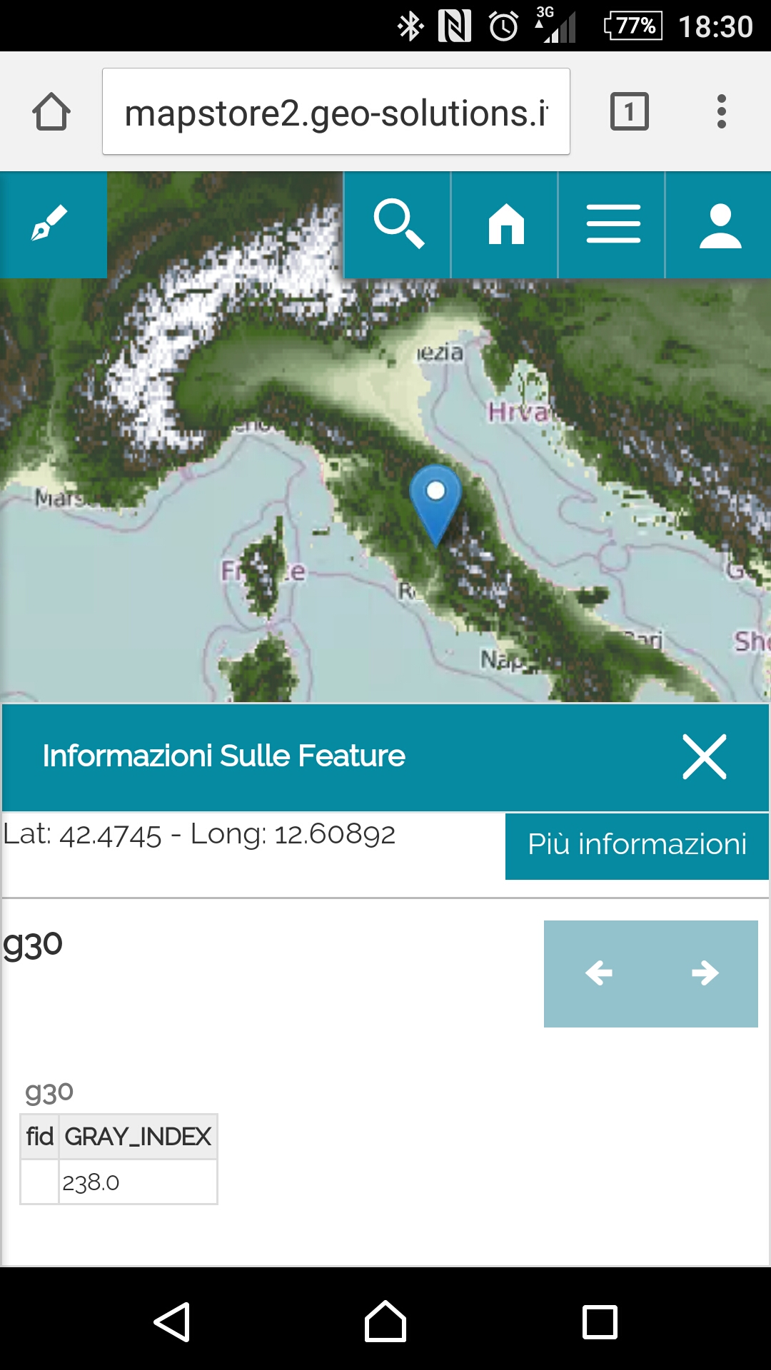 MapStore 2 Mobile, the featureinfo at work