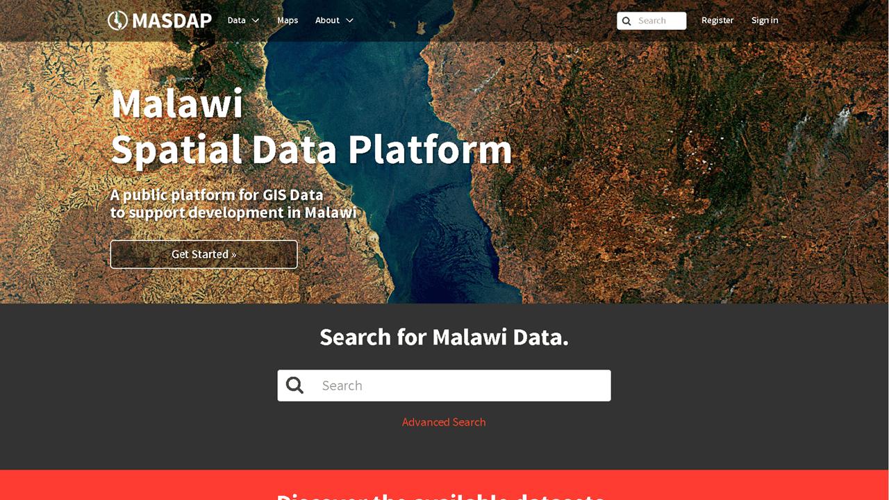 Malawi Spatial Data Portal (MASDAP)