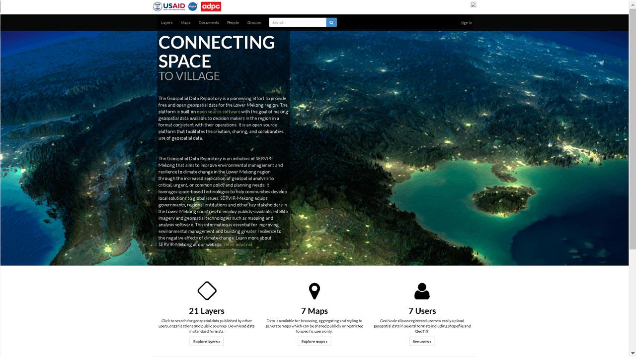 USAID  Geospatial Data Repository