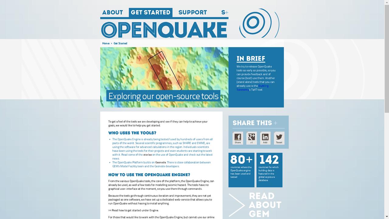 GEM OpenQuake
