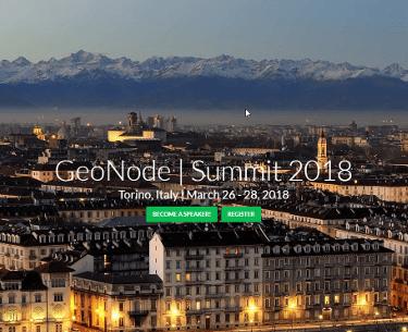 GeoNode SUmmit 2018