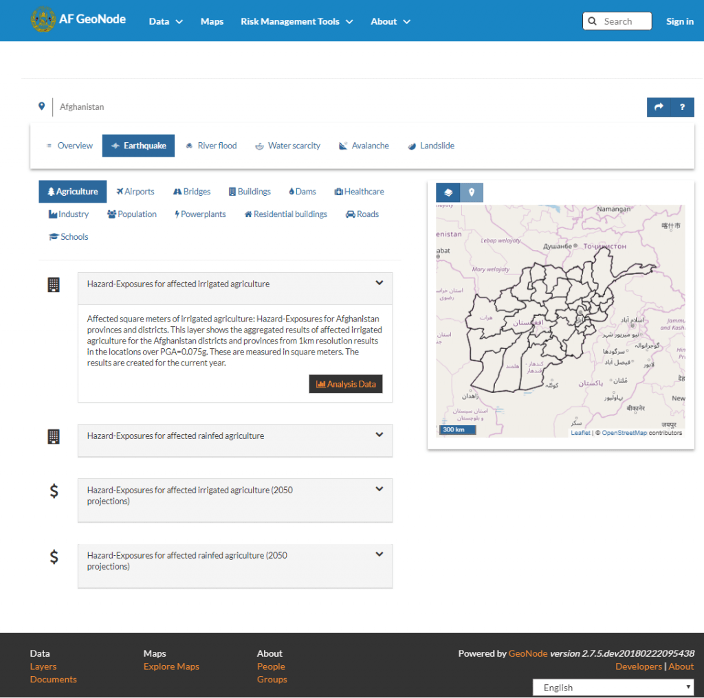 Earthquake Risk Analysises available -2-