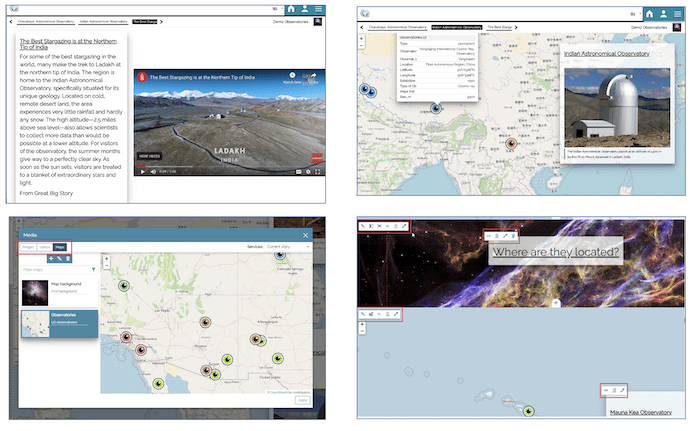 MapStore Dashboards