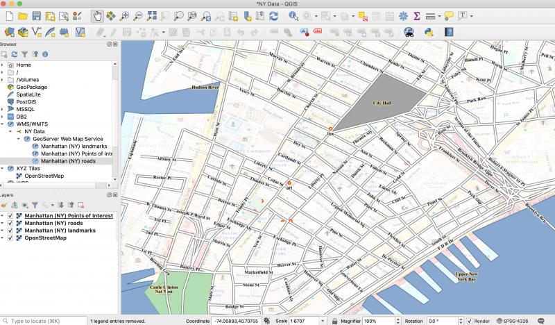 NY Data in QGIS