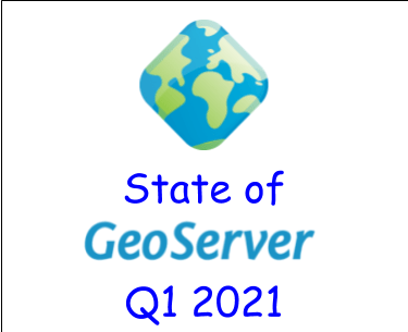 State of GeoServer 2021 Q1