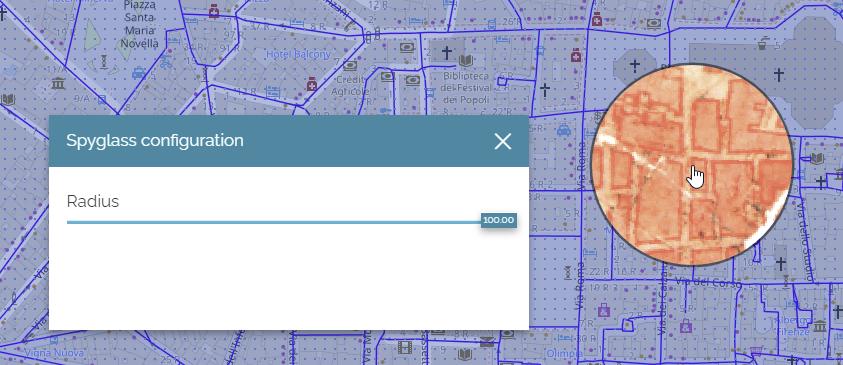 Compare tool - Spyglass configuration panel